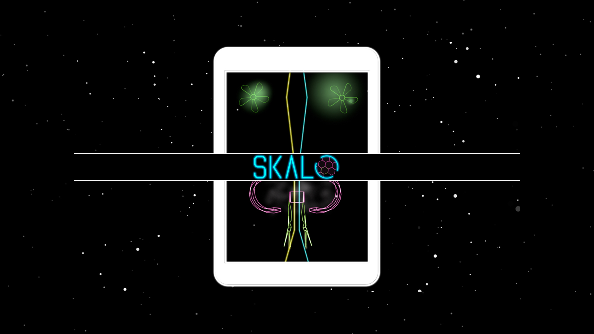 Skalo – scale thru the space.